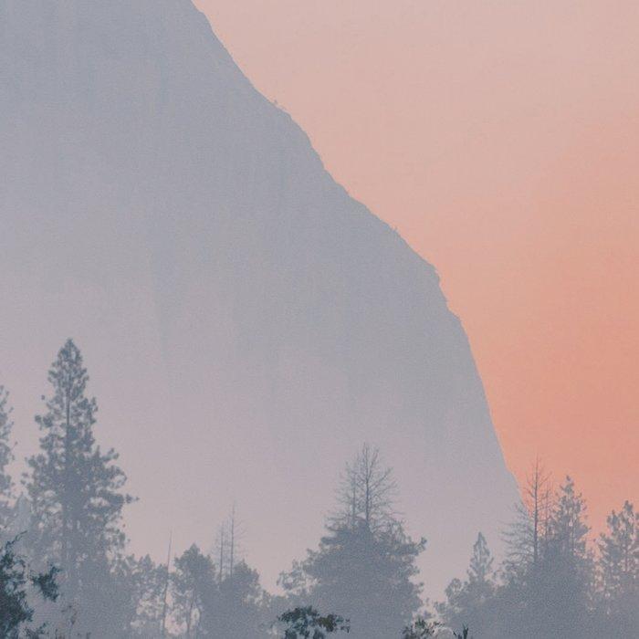 Yosemite Valley Sunrise Pretty Pink Leggings