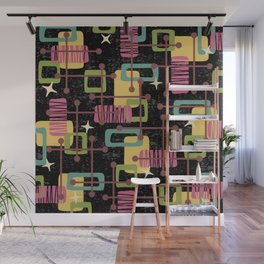 Mid Century Modern Abstract Pattern 836 Wall Mural