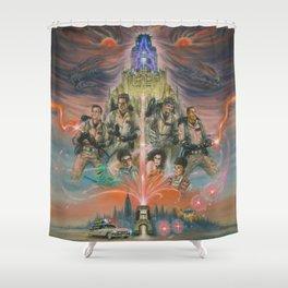 35 years bustin'! Shower Curtain