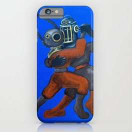 Two Divers, Dancing iPhone Case