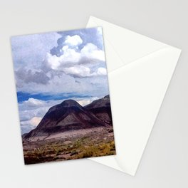 Painted Desert Hills Stationery Cards