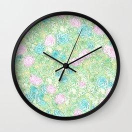 Tea with Peter Rabbit Wall Clock