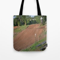 moto Tote Bags featuring Moto by Dymond Speers