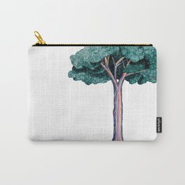 Spiral Tree Carry-All Pouch