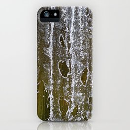 Holey Water iPhone Case