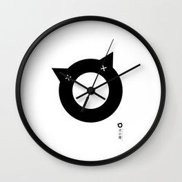 inugoya 'A' original illustration Wall Clock