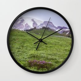 The Fields of Summerland Wall Clock