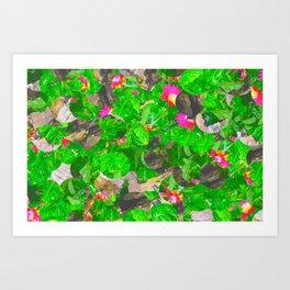 Flaura. Art Print