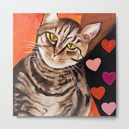 Love Tabbies Metal Print