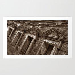 High Gate Cementery Art Print