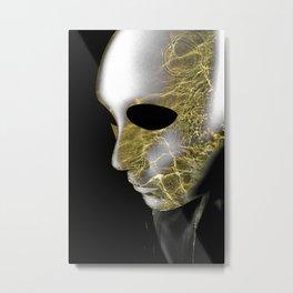 Frustated Metal Print