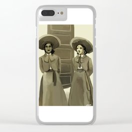 Dos Charras Clear iPhone Case