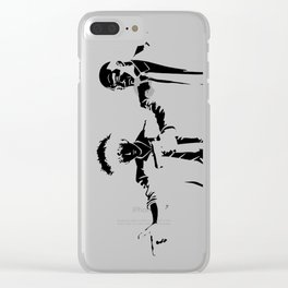 Cowboy Bebop - Spike Jet Knockout Black Clear iPhone Case