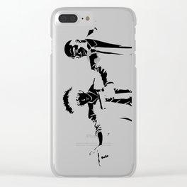 Cowboy Bebop - Spike Jet Knockout Black Clear iPhone Case