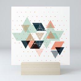 Midcentury geometric abstract nr 011 Mini Art Print