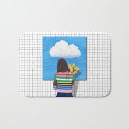Spring Rain_ver1 Bath Mat