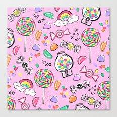 Cute Little Candies Canvas Print
