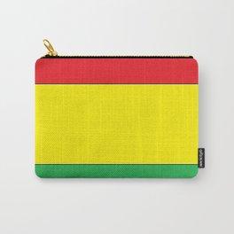 Rasta Stripes Carry-All Pouch