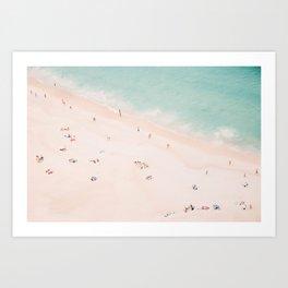 Beach Summer Bliss Art Print