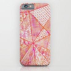 Circle Of Life - pink & orange iPhone 6s Slim Case