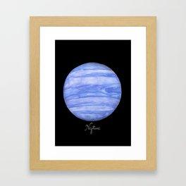 Neptune #2 Framed Art Print