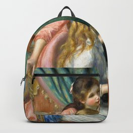 Two Young Girls at the Piano - Auguste Renoir Backpack