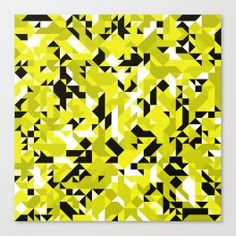 Off-Beat Geometric Shapes V.17 Canvas Print