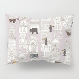 urban jungle blush pink Pillow Sham