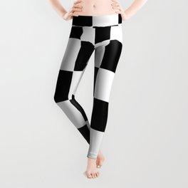 Checkerboard pattern Leggings