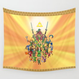 The Legend of Zelda 30th anniversary Wall Tapestry