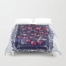 Winter Cherry Duvet Cover