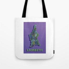 Lambeth - London Boroughs - Colour Tote Bag