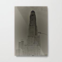Brooklyn Tower Metal Print