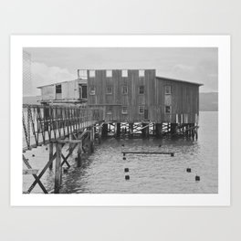Abandoned Cannery Art Print