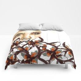 Supermodel Cara Comforters