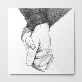 I Want To Hold Your Hand Metal Print