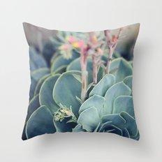Echeveria #4 Throw Pillow