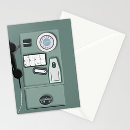Israeli Old Phone Cabin Stationery Cards