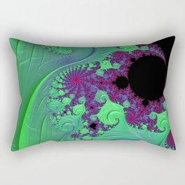 Euphoric Seahorse - Fractal Art Rectangular Pillow