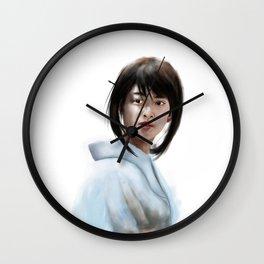 Kaoru Kamiya Fanart (Emi Takei Samurai X Live Action) Wall Clock