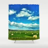 canada Shower Curtains featuring Canada by Judith Altman