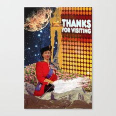 Thanks Canvas Print