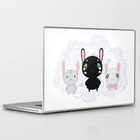 rabbits Laptop & iPad Skins featuring Rabbits by Ilya Konyukhov