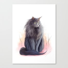 Tiff Canvas Print
