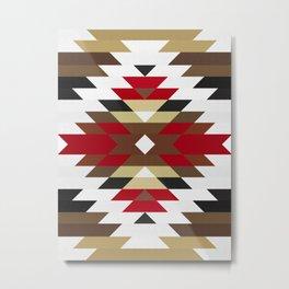 Geometric Art with Bands 06 Metal Print