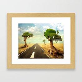 Biologic Framed Art Print