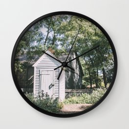 Shed Out Back Wall Clock