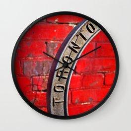 Toronto Bicycle Ring Wall Clock