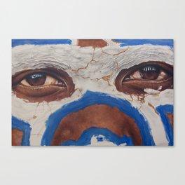 Tribal View Canvas Print