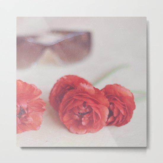 Rosy Outlook Metal Print